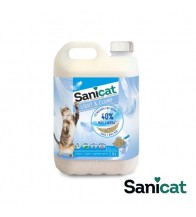 SANICAT BENTONITA FINA LIGHT & CLUMP 5 LT (3.34 kg)