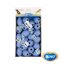 DUVO EXPOSITOR JUGUETE PERRO GOMA BOLA RUGBY MIX